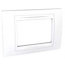 Plaque 3M simple Blanc