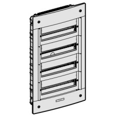 Coffret encastré-4x 18 modules